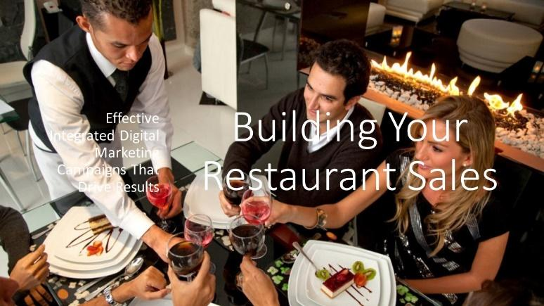 building your restaurant sales
